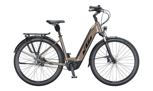 KTM E-Trekking & E-City MACINA CITY 610 belt Biciclete electrice