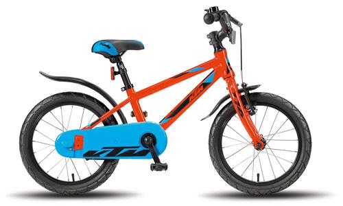 KTM Kids KINDERRAD 1.16 JUNGE ORANGE / SCHWARZ / BLAU Biciclete